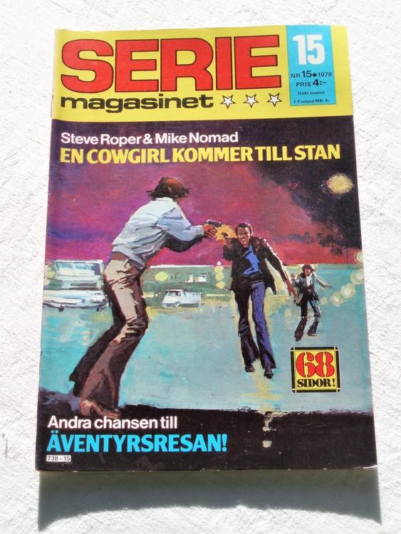 Seriemagasinet nr 15 1978 mycket bra skick ny oläst