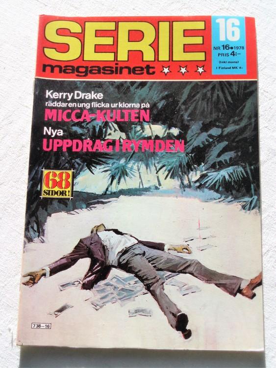 Seriemagasinet nr 16 1978 mycket bra skick ny oläst