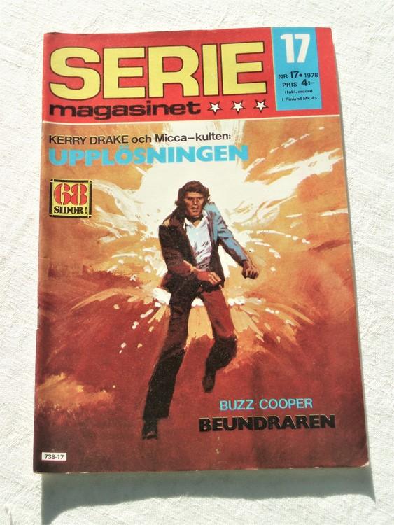 Seriemagasinet nr 17 1978 mycket bra skick ny oläst