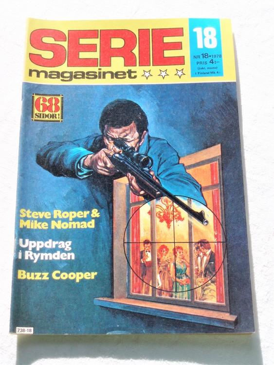 Seriemagasinet nr 18 1978 mycket bra skick ny oläst