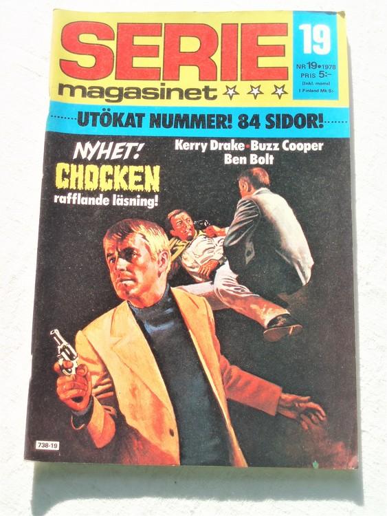 Seriemagasinet nr 19 1978 mycket bra skick ny oläst