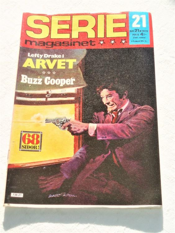 Seriemagasinet nr 21 1978 mycket bra skick ny oläst