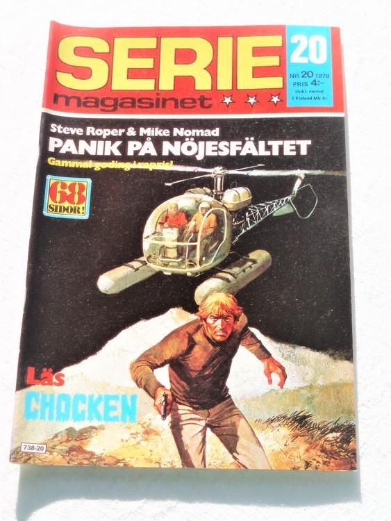 Seriemagasinet nr 20 1978 mycket bra skick ny oläst