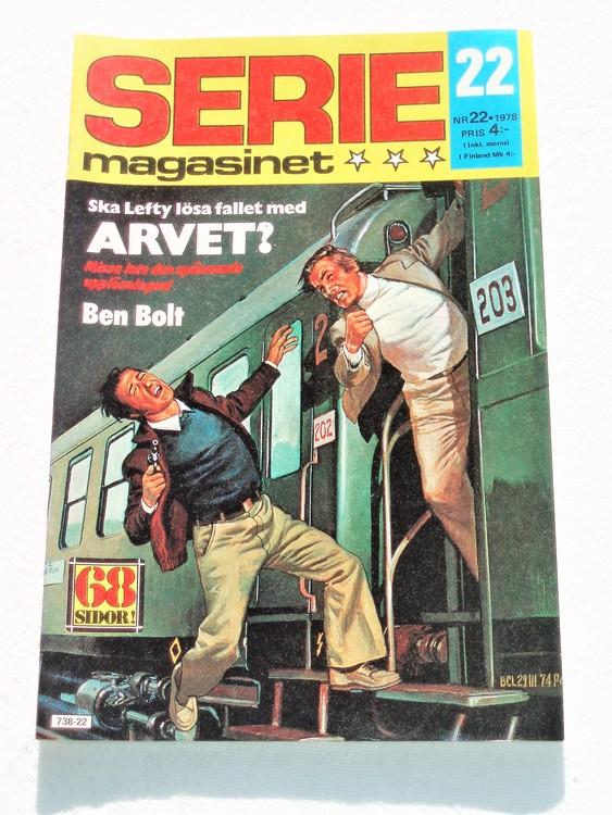 Seriemagasinet nr 22 1978 mycket bra skick ny oläst
