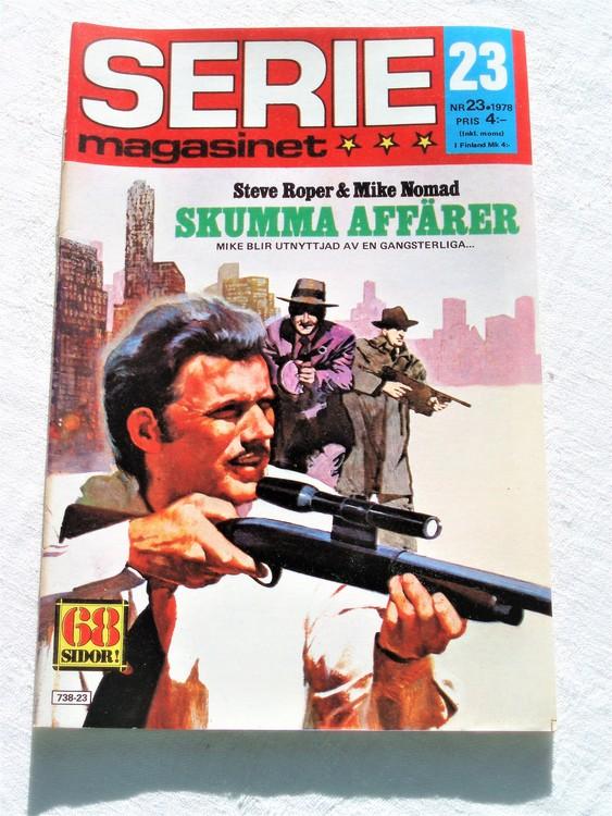Seriemagasinet nr 23 1978 mycket bra skick ny oläst