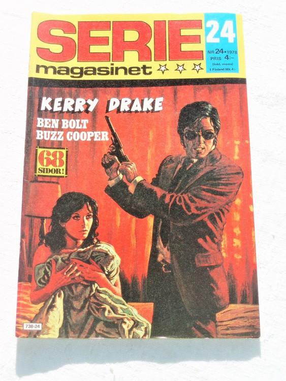Seriemagasinet nr 24 1978 mycket bra skick ny oläst