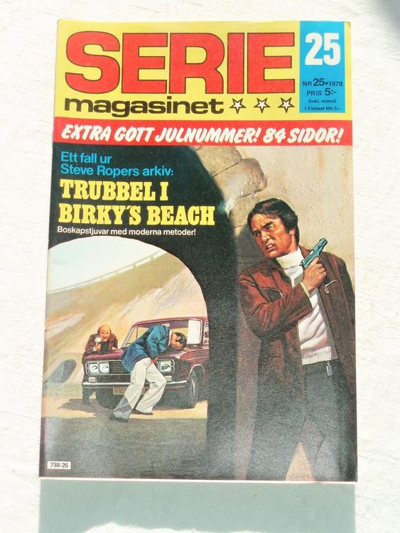 Seriemagasinet nr 25 1978 mycket bra skick ny oläst