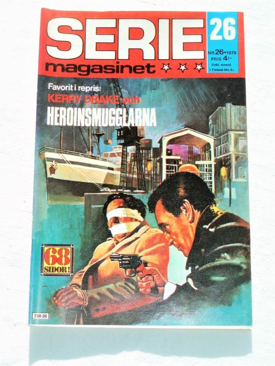 Seriemagasinet nr 26 1978 mycket bra skick ny oläst