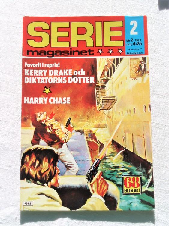Seriemagasinet nr 2 1979 mycket bra skick ny oläst