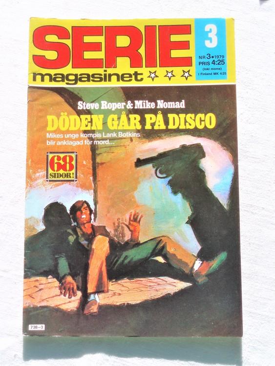 Seriemagasinet nr 3 1979 mycket bra skick ny oläst