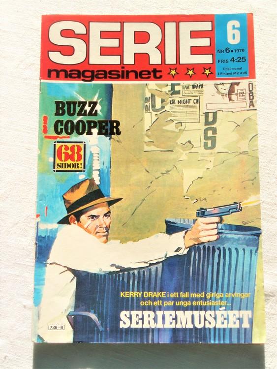 Seriemagasinet nr 6 1979 mycket bra skick ny oläst