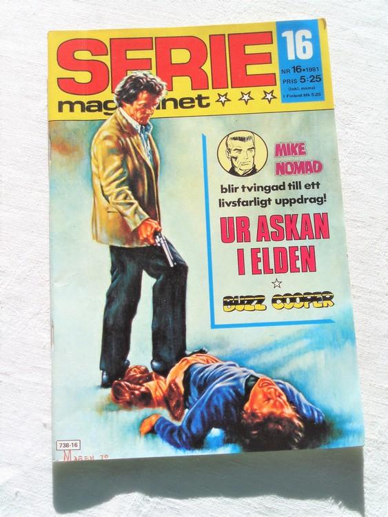 Seriemagasinet nr 16 1981 mycket bra skick ny oläst
