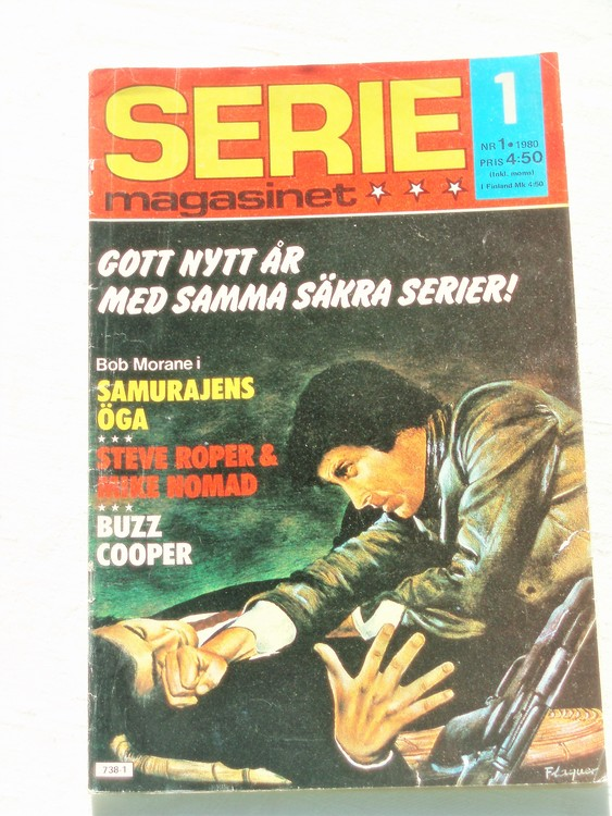 Seriemagasinet nr 1 1980 bättre skick