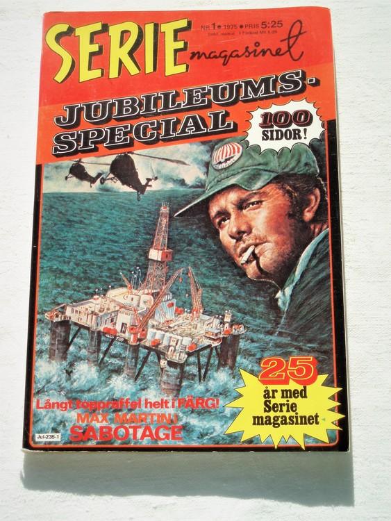 """Serie-magasinet """"Specialalbum""""nr1 1975,mycket bra skick,ny oläst"""