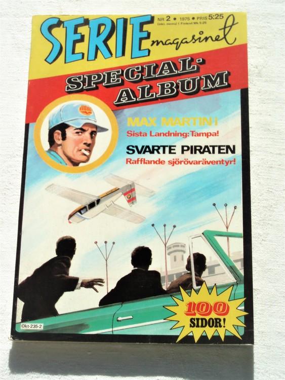 """Serie-magasinet """"Specialalbum""""nr2 1975,mycket bra skick,ny oläst"""