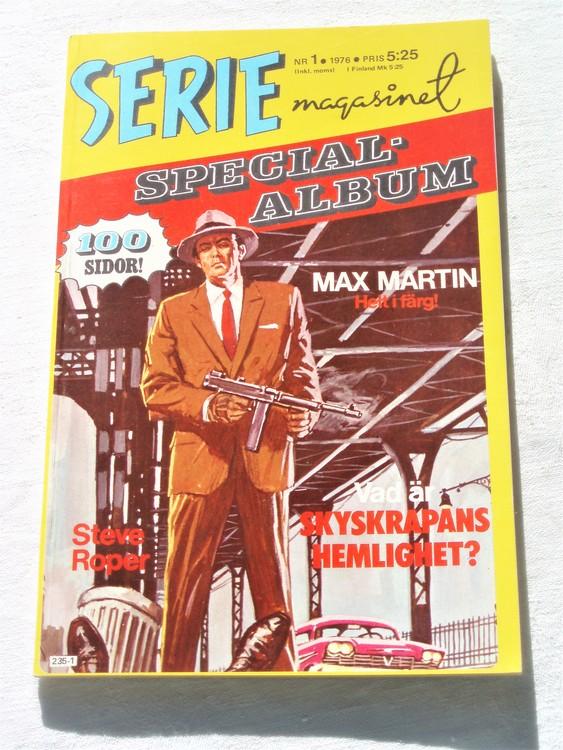 """Serie-magasinet """"Specialalbum""""nr1,1976,mycket bra skick,ny oläst"""