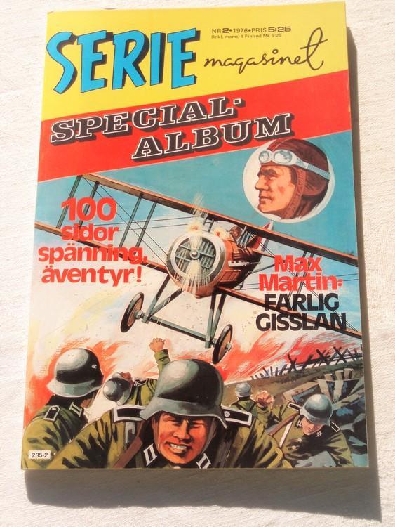 """Serie-magasinet """"Specialalbum""""nr2 1976,mycket bra skick,ny oläst"""