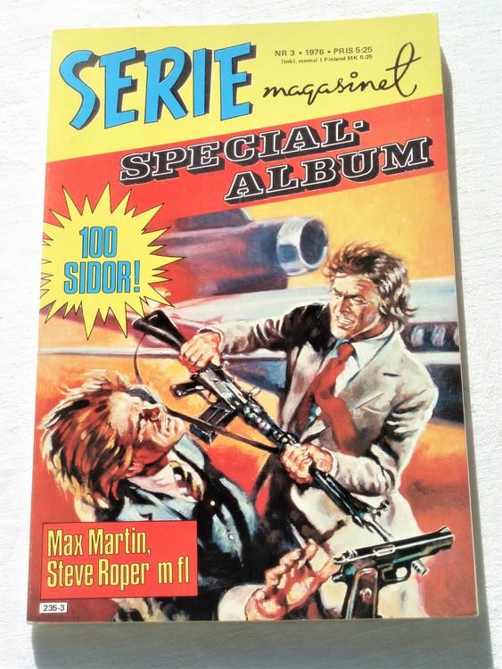 """Serie-magasinet """"Specialalbum""""nr3 1976,mycket bra skick,ny oläst"""
