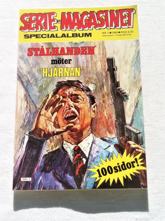 """Serie-magasinet """"Specialalbum""""nr1,1980,mycket bra skick,ny oläst"""