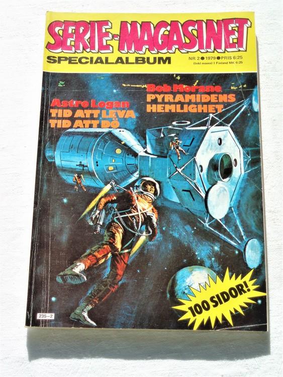"""Serie-magasinet """"Specialalbum""""nr2 1979,mycket bra skick,ny oläst"""