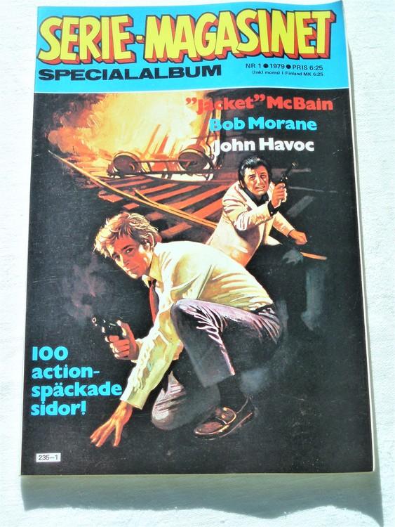 """Serie-magasinet """"Specialalbum""""nr1,1979,mycket bra skick,ny oläst"""