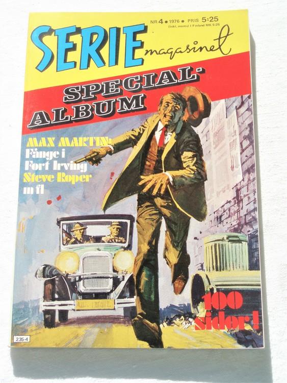 """Serie-magasinet """"Specialalbum""""nr4 1976,mycket bra skick,ny oläst"""