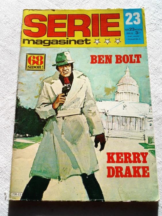 Seriemagasinet nr 23 1976 bra skick