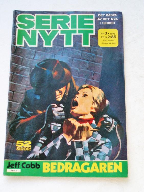 Serie-Nytt nr 3 1976 mycket bra skick ny oläst