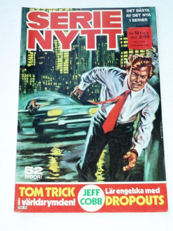 Serie-Nytt nr 15 1976 mycket bra skick ny oläst