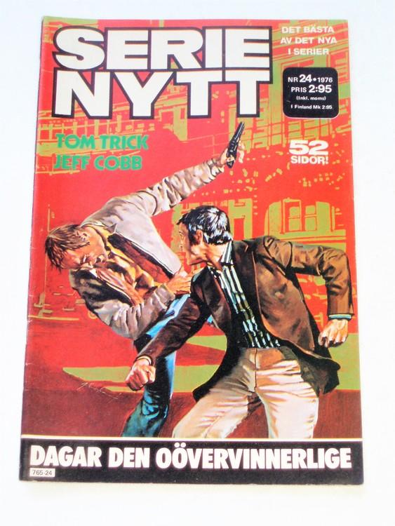 Serie-Nytt nr 24 1976 mycket bra skick ny oläst