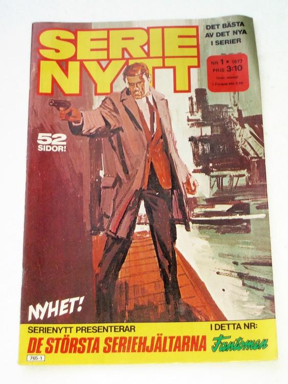 Serie-Nytt nr 1 1977  bättre skick