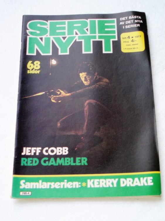 Serie Nytt nr 4 1977 mycket bra skick, ny oläst