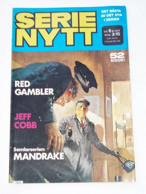 Serie Nytt nr 6 1977 mycket bra skick, ny oläst