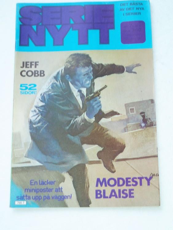 Serie Nytt nr 7 1977 mycket bra skick, ny oläst