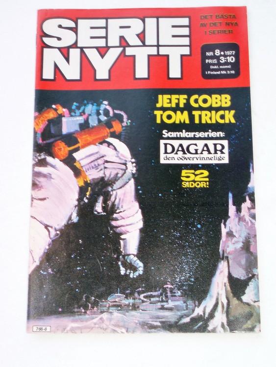 Serie Nytt nr 8 1977 mycket bra skick, ny oläst