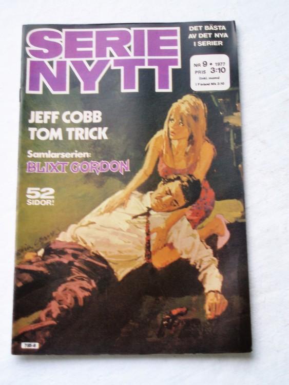 Serie Nytt nr 9 1977 mycket bra skick, ny oläst