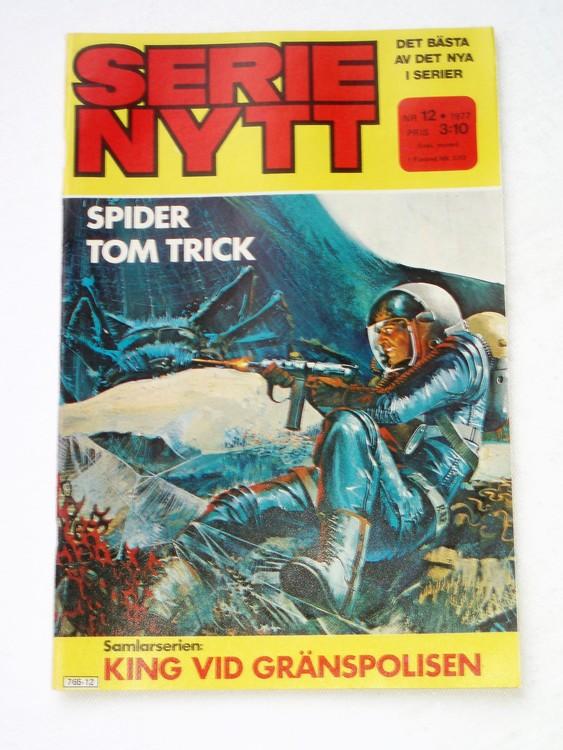 Serie Nytt nr 12 1977 mycket bra skick, ny oläst