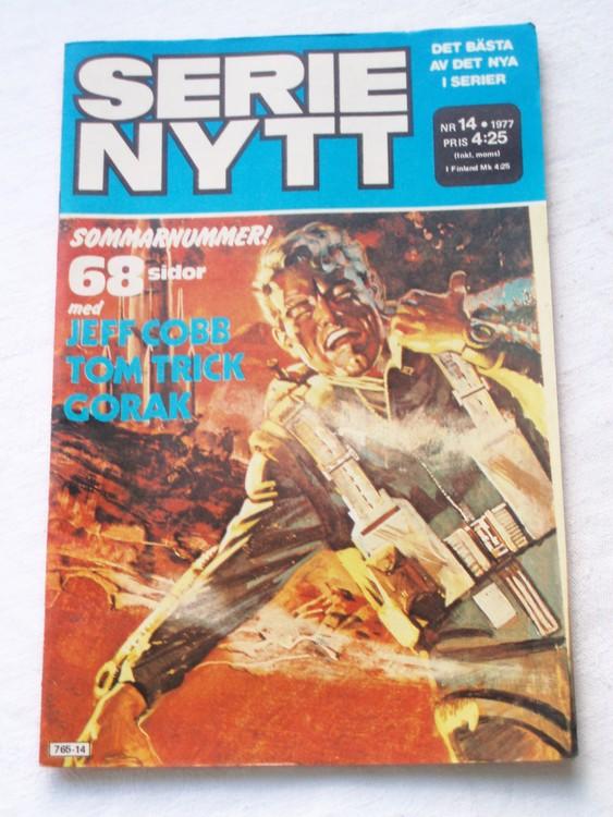 Serie Nytt nr 14 1977 mycket bra skick, ny oläst