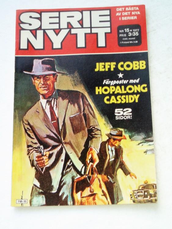 Serie Nytt nr 15 1977 mycket bra skick, ny oläst