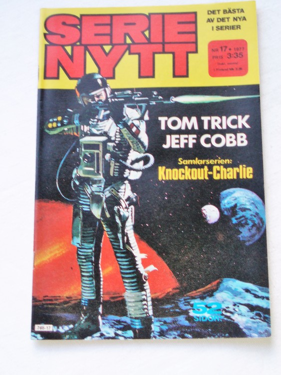 Serie Nytt nr 17 1977 mycket bra skick, ny oläst