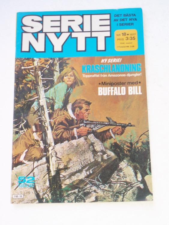 Serie Nytt nr 18 1977 mycket bra skick, ny oläst
