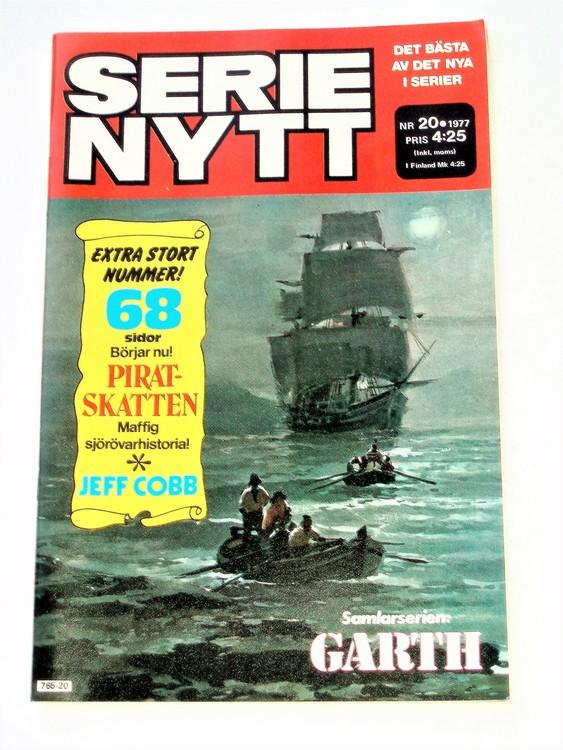 Serie Nytt nr 20 1977 mycket bra skick, ny oläst