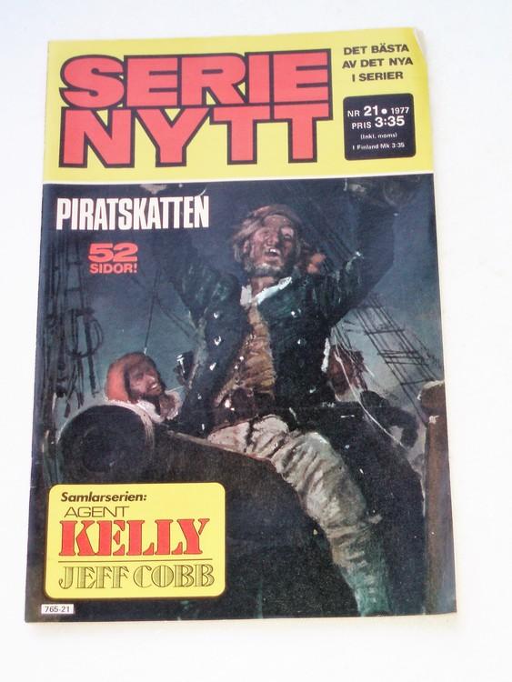 Serie Nytt nr 21 1977 mycket bra skick, ny oläst