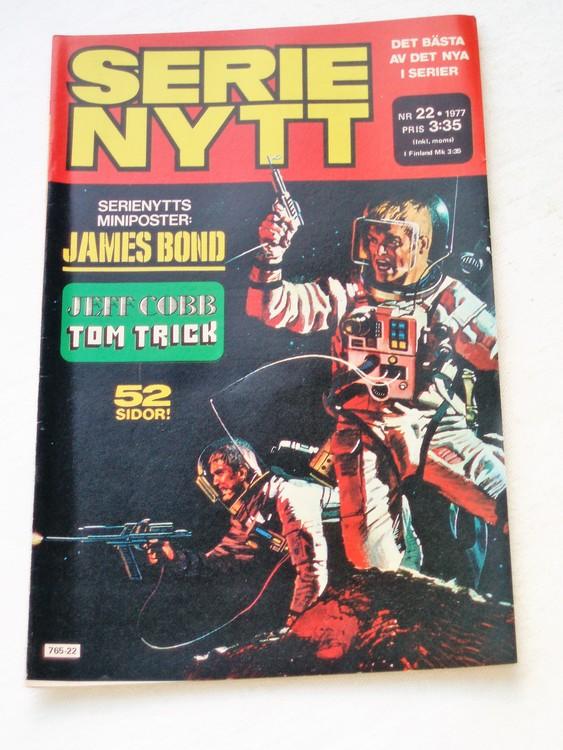 Serie Nytt nr 22 1977 mycket bra skick, ny oläst