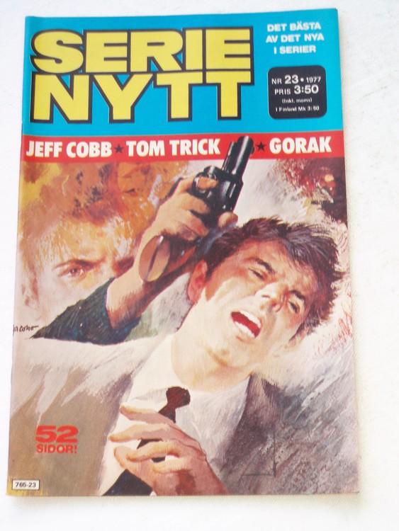 Serie Nytt nr 23 1977 mycket bra skick, ny oläst