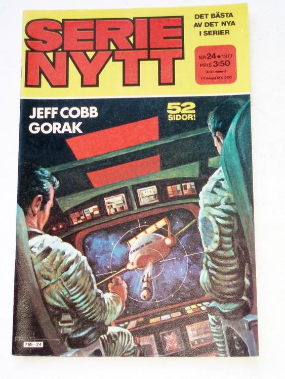 Serie Nytt nr 24 1977 mycket bra skick, ny oläst