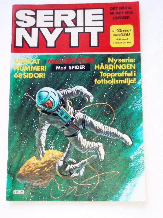 Serie Nytt nr 25 1977 mycket bra skick, ny oläst