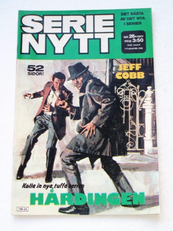 Serie Nytt nr 26 1977 mycket bra skick, ny oläst