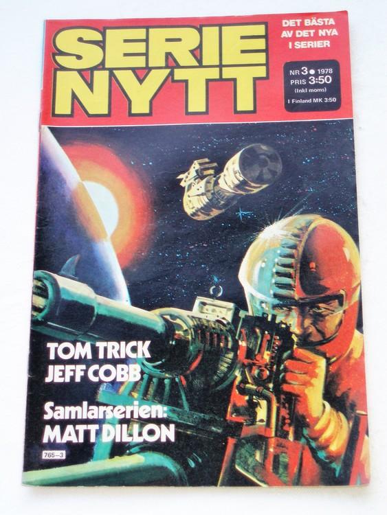 Serie Nytt nr 3 1978 mycket bra skick, ny oläst