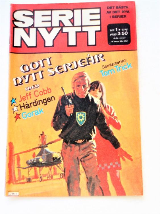 Serie Nytt nr 1 1978 mycket bra skick, ny oläst